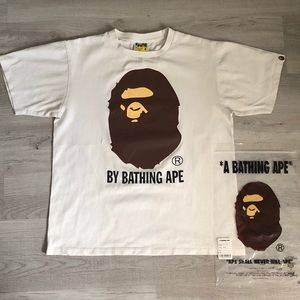 BAPE By Bathing Tee White